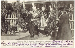 SERBIA - SERBIE - Србија, Srbija - Ankunft Ihrer Majestäten Des Königs Und Der Königin In Carlovatz -registriert Sendung - Serbien