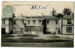 CPA 37 Indre Et Loire Monnaie Château De La Vallée - Monnaie