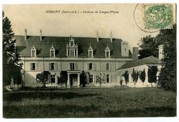 CPA 37 Indre Et Loire Sorigny Château De Longue-Plaine - France