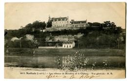 CPA 37 Indre Et Loire Montlouis Les Côteaux De Bondésir Et Le Château Vue Générale - France