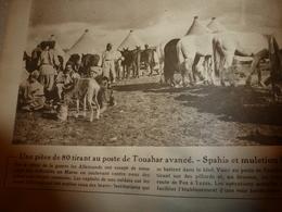 1918 LE MIROIR:Spahis & Muletiers à Touahr (Maroc);Révolution En Russie;Epernay;Armée Belge;Mosquée D'Omar; Piave;etc - Magazines & Papers