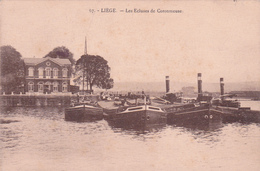 """LIEGE  Acp  """" Les écluses De Coronmeuse """"  Non-écrite  Voir Scan - Luik"""