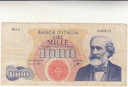 Lire 1000 Banca D'Italia DM 14 Luglio 1962 - 1000 Lire