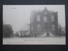 CP BELGIQUE (M1818) CONTICH KONTICH (2 VUES) Maison Communale Gemeentehuis - Kontich