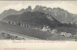 Plätzwiesen. Y. Istallo,ic. Opena Und Cristalin. Italy. S-4402 - Bolzano (Bozen)