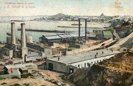 AZERBAIJAN (RUSSIA) - Cap Bailoff Et Le Dock BAKOU.  VG Postmarks Etc 1908 - Azerbaïjan