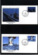 Marshall Island  1991 WW II USS Reuben James Sunk FDC - WW2
