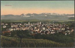 Generalansicht, Altstätten, St Gall, 1910 - Dinkelacker AK - SG St. Gall