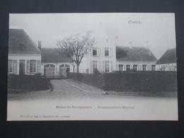CP BELGIQUE (M1818) CONTICH KONTICH (2 VUES) Maison Du Bourgmestre - Burgemeester's Woning - Kontich
