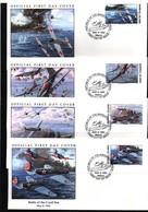 Marshall Island  1991 WW II Battle Of The Coral Sea FDC - WW2