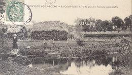 °°°  45  FONTENAY SUR LOING .   Castel Paillard   °°°  ///  REF OCT.18  ///  BO 45 - Other Municipalities