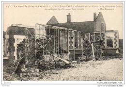 MILITARIA  GUERRE 1914-18  PARGNY- SUR- SAULX  Les Allemands Battus Incendièrement La Ville Avant Leur Retraite  ..... - Guerre 1914-18