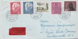 Postal History Cover: Germany Cover From 1968 - [7] République Fédérale
