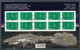 SCHWEIZ Mi.Nr. 2044 Fußball-Europameisterschaft, Schweiz Und Österreich - Used - Blocs & Feuillets