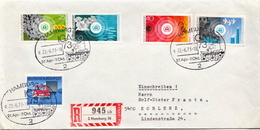 Postal History Cover: Germany R Cover From 1973 With Full Set - Environment & Climate Protection