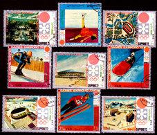 Yemen-0011 - Sapporo 1972 (o) Used - Senza Difetti Occulti. - Yemen