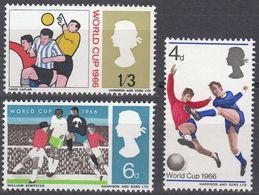 UK - REGNO UNITO - 1966 - Serie Completa Di 3 Valori Nuovi MNH Yvert  441/443. - 1952-.... (Elisabetta II)