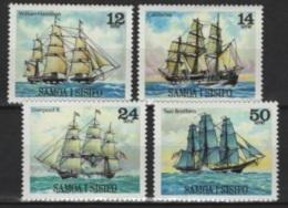 Samoa (1980) Yv. 460/63  /  Barcos - Bateaux - Ships - Schiffe - Barche - Boten