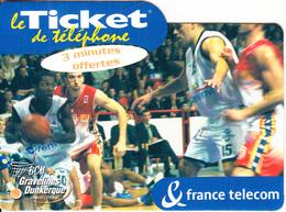 FRANCE - Basketball, BCM/Gravelines Dunkerque, FT Promotion Prepaid Card, Tirage 2500, Exp.date 20/12/03, Mint - France