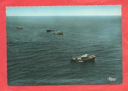 CPSM  1968  Moliets (40)Pêche Au Chalut Devant Moliets - Altri Comuni
