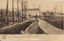 Linkebeek (1630) : L'Hôtel De L'Île Robinson, Le Ruisseau Et Les Alentours. Cliché Peu Courant. CPA. - Linkebeek