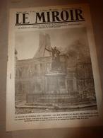 1918 LE MIROIR:Ham;Nesle;Tilloloy;Beuvraignes; Lens; Canadiens à Quéant (nombreuses Photographies); Etc - Magazines & Papers