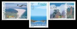 ESPAÑA 2004 - NATURALEZA - Edifil Nº  4122-4124 - YVERT 3701-3703 - 1931-Oggi: 2. Rep. - ... Juan Carlos I
