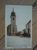 Cpa MONTAGNEY (Haute-Saône) L'Eglise Vieille Voiture - Andere Gemeenten