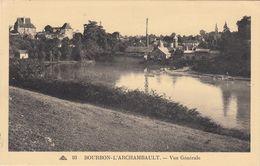 Cp , 03 , BOURBON-L'ARCHAMBAULT , Vue Générale - Bourbon L'Archambault