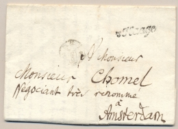 Nederland - 1781 - 'sHAAGE En 3S-stempel Op Complete Vouwbrief Naar Amsterdam - Nederland