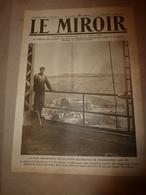 1918 LE MIROIR:;Héroïnes à Buckingham Palace(Miss->Atkinson,Affeek,Sinclair,->Lady Bowater,etc);Sté TSF à Nauen(All);etc - Magazines & Papers