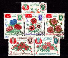 Yemen-0001a - Flora (o) Used - Senza Difetti Occulti. - Yemen