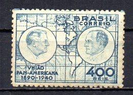 BRAZIL 1940 MINT MH - Brazil