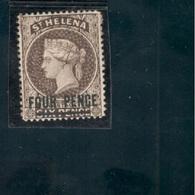 St.Helena1884-94: Michel18(Yvert17)(Scott38)mh* With Full ,original Gum Cat,Value $38+ - Saint Helena Island
