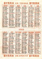 5514-2018  CALENDRIER 1902  BYRRH  VIOLET FRERES  A THUIR 66 - Calendriers