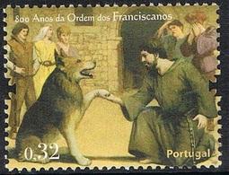 2009 - PORTOGALLO / PORTUGAL - ORDINE SAN FRANCESCO / SAINT FRANCIS ORDER. USATO - 1910 - ... Repubblica