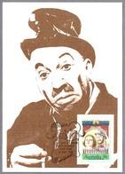 "ROY RENE ""MO"". Tarjeta Maxima/maximum Card Australia1989 - Teatro"