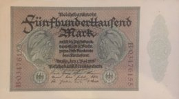 Germany 500.000 Mark, DEU-99b/Ro.87b (1923) - EF/XF - 1918-1933: Weimarer Republik