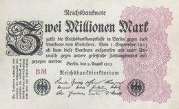 Germany 2.00.000 Mark, DEU-116b/Ro.103e (1923) - UNC - 2 Millionen Mark