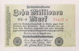 Germany 10.00.000 Mark, DEU-118a/Ro.105e (1923) - UNC - [ 3] 1918-1933: Weimarrepubliek