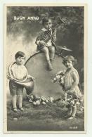 BUON ANNO BAMBINI 1931 VIAGGIATA FP - Año Nuevo
