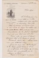 Courrier Militaire 127 éme Régiment D'infanterie Marcel Dutouquet - Manuscripts