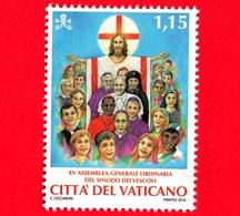 Nuovo - MNH - VATICANO - 2018 - 15ª Assemblea Generale Ordinaria Del Sinodo Dei Vescovi - Gesù E Fedeli - 1.15 - Vatican
