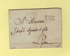 Ivree - 109 - Port Paye - Courrier De L'an 12 - Departement Conquis La Doire - 1792-1815: Conquered Departments