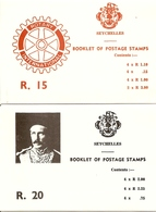 SEYCHELLES, 1980, Booklet 6/7, Rotary / Gordon - Seychelles (1976-...)