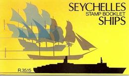SEYCHELLES, 1981, Booklet 10, 35R Ships - Seychelles (1976-...)