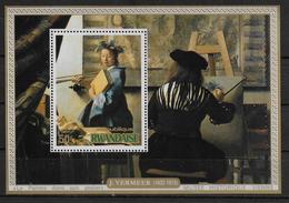 RWANDA  BF 65 * *   Tableaux Vermeer - Otros