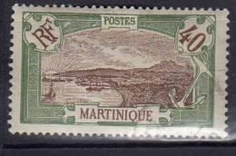 Martinique 1908-1918 Fort-de-france 40c N° 71 - Martinique (1886-1947)