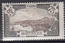 Martinique 1908-1918 Fort-de-france 75c N° 74 Neuf* - Martinique (1886-1947)
