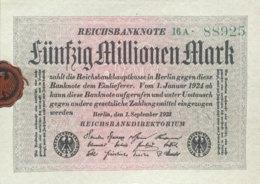 Germany 50.000.000 Mark, DEU-122a/Ro.108a (1923) - UNC - [ 3] 1918-1933 : Repubblica  Di Weimar
